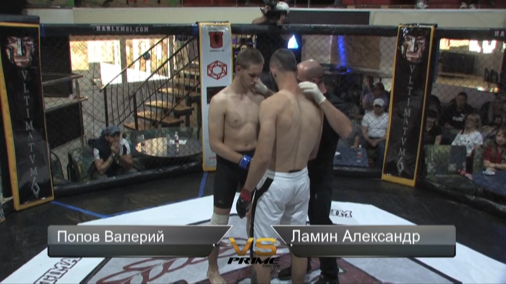 Бой Попов Валерий vs.Ламин Александр. ULTIMATUM 6