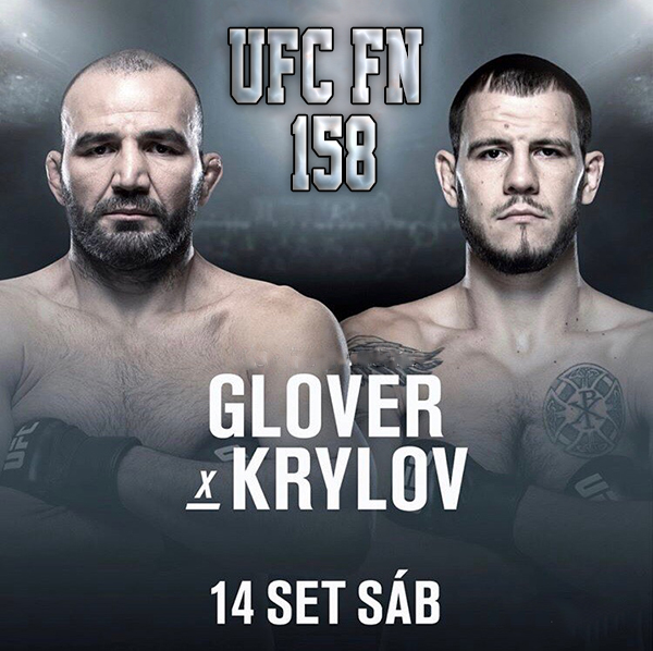 Бой Никита Крылов vs. Гловер Тейшейра на турнире UFC Fight Night 158
